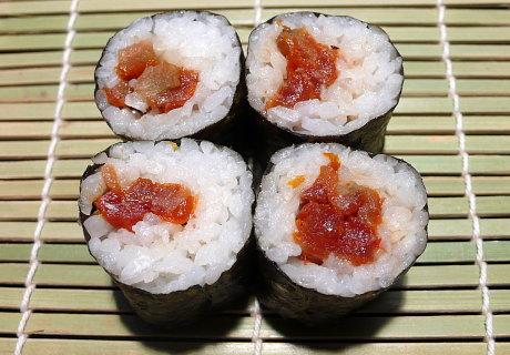 sushi eat drink michael woman. Black Bedroom Furniture Sets. Home Design Ideas